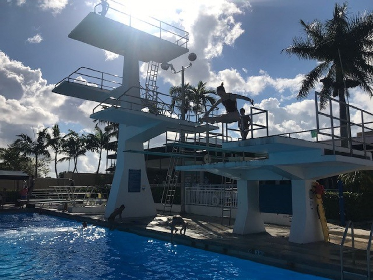Former Gold Medalist, Tokyo Olympic Hopeful Pursues Comeback in Coral Springs
