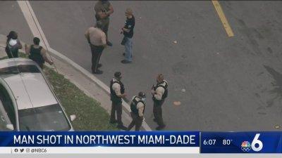 Man Shot in Northwest Miami-Dade