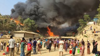 Bangladesh Rohingya Camp