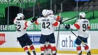 Vatrano's Power-Play OT Goal Leads Florida Panthers Past Dallas Stars