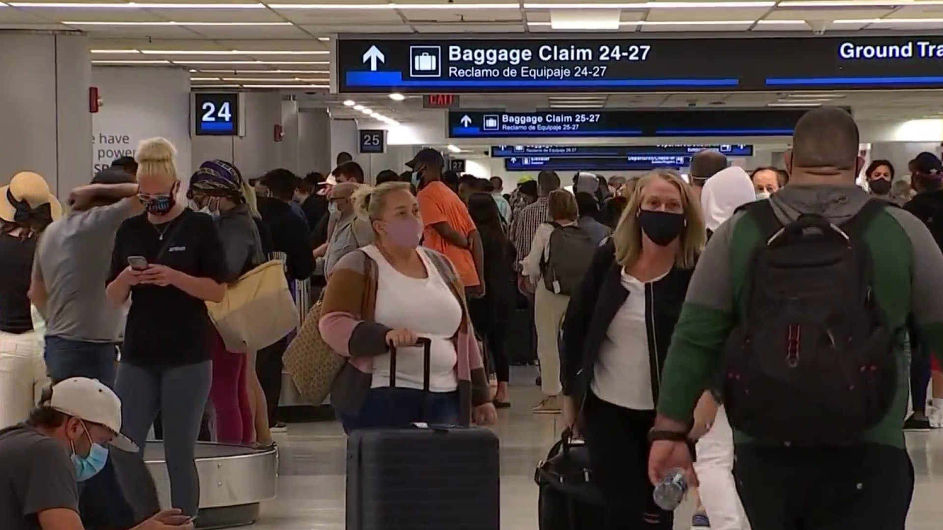 Weekend Storms Cause Travel Nightmare at Local Airports