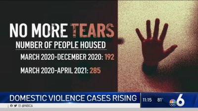 Domestic Violence Cases Rising; Nonprofit Overwhelmed