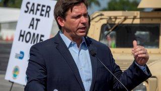 El gobernador de Florida, Ron DeSantis