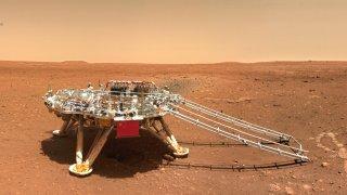 china mars rover