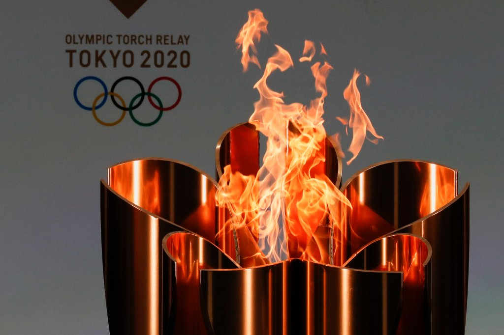 Tokyo 2020 Olympic torch