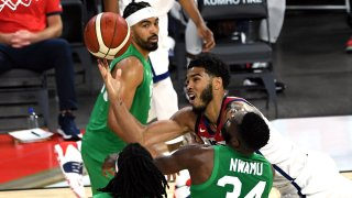 Nigeria US Basketball