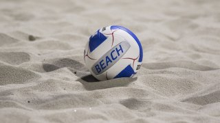 GENERIC BEACH VOLLEYBALL SHOT --during the Division I Team Beach Volleyball State Championships against Fountain Hills at Casteel High School in Queen Creek, Arizona, May 02, 2019.