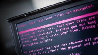 laptop cyberattack ransomware