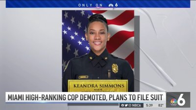 Miami High-Ranking Cop Demoted, Plans to File Suit