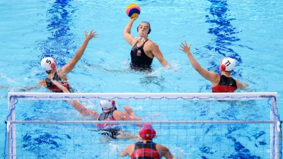 US Women's Water Polo Advances to Semifinals After Defeating Canada 16-5