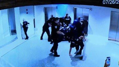Miami Beach Officers Rough Arrests Hotel Surveillance