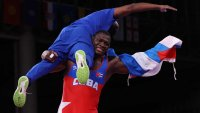 Cuban Wrestler Mijain Lopez Wins Historic Fourth Wrestling Gold