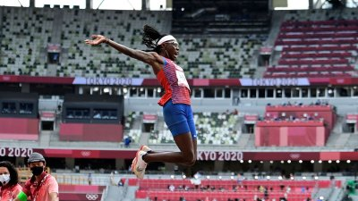 Brittney Reese Wins Third Olympic Long Jump Medal