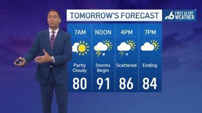 NBC 6 First Alert Forecast – Aug. 2, 2021 Evening