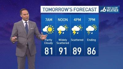 NBC 6 First Alert Forecast – August 1, 2021 – Evening