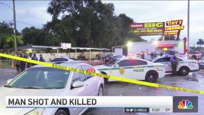 Man Shot, Killed at West Little River Car Wash Business