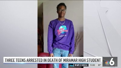 Neighbors Stunned After Three Teens Arrested in Death of Miramar High Student