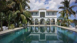 Al Capone's former mansion in Miami.