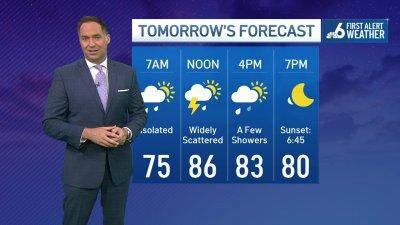 NBC 6 First Alert Weather Forecast – October 23, 2021 – Evening