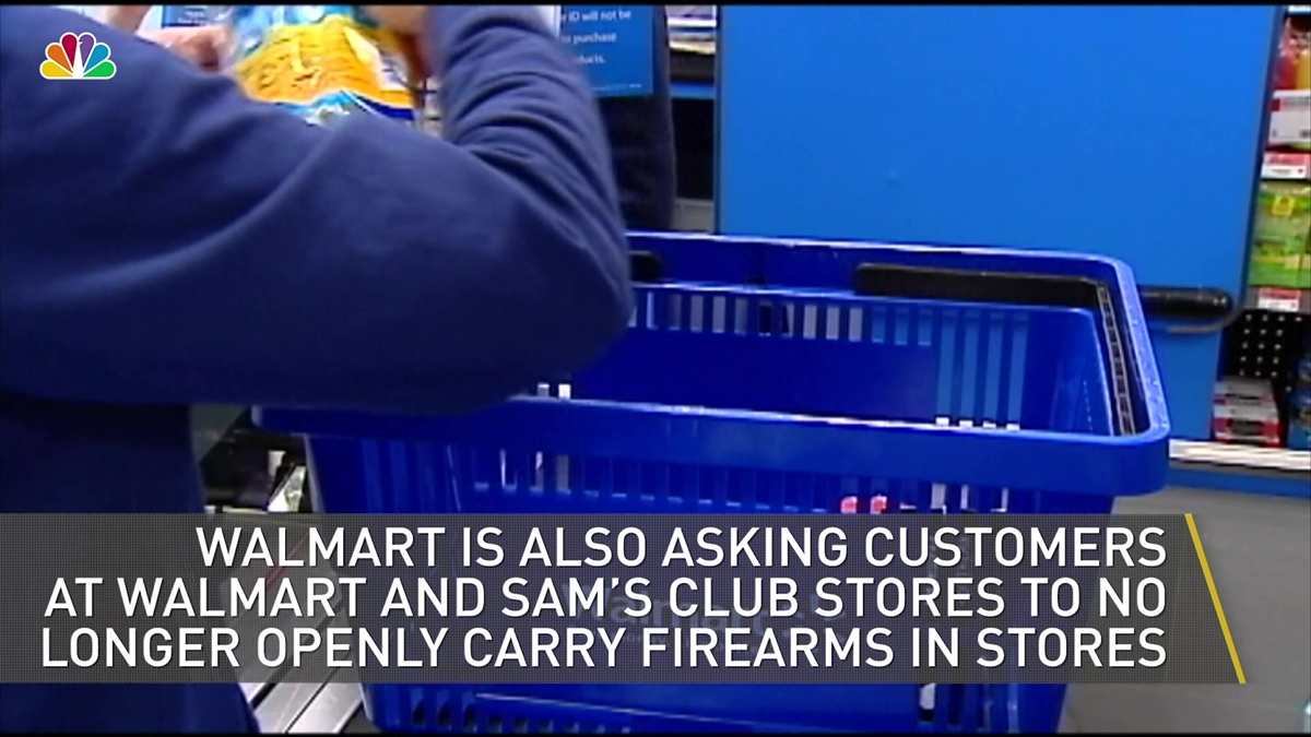 Walmart To Cease Some Ammo Sales Amid Backlash | NBC4 Washington