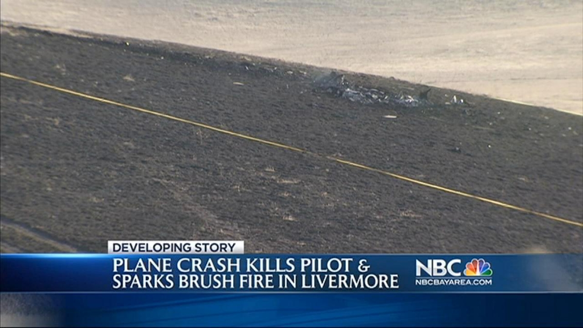 1 Dead After Small Plane Crashes in Livermore Near I-580