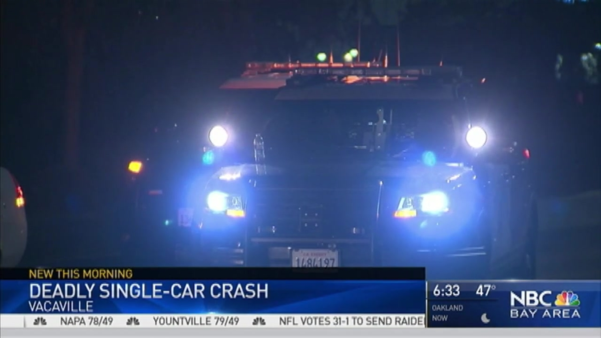 One Dead After Car Ghastly Crash in Vacaville