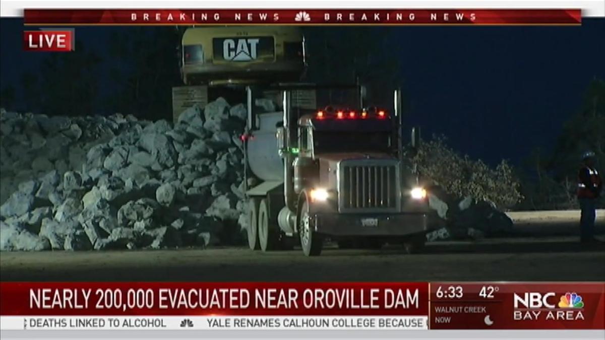 Oroville Dam Live