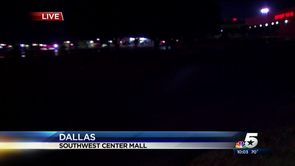 Chase, Standoff Ends With Fatal Shooting Outside Dallas Mall