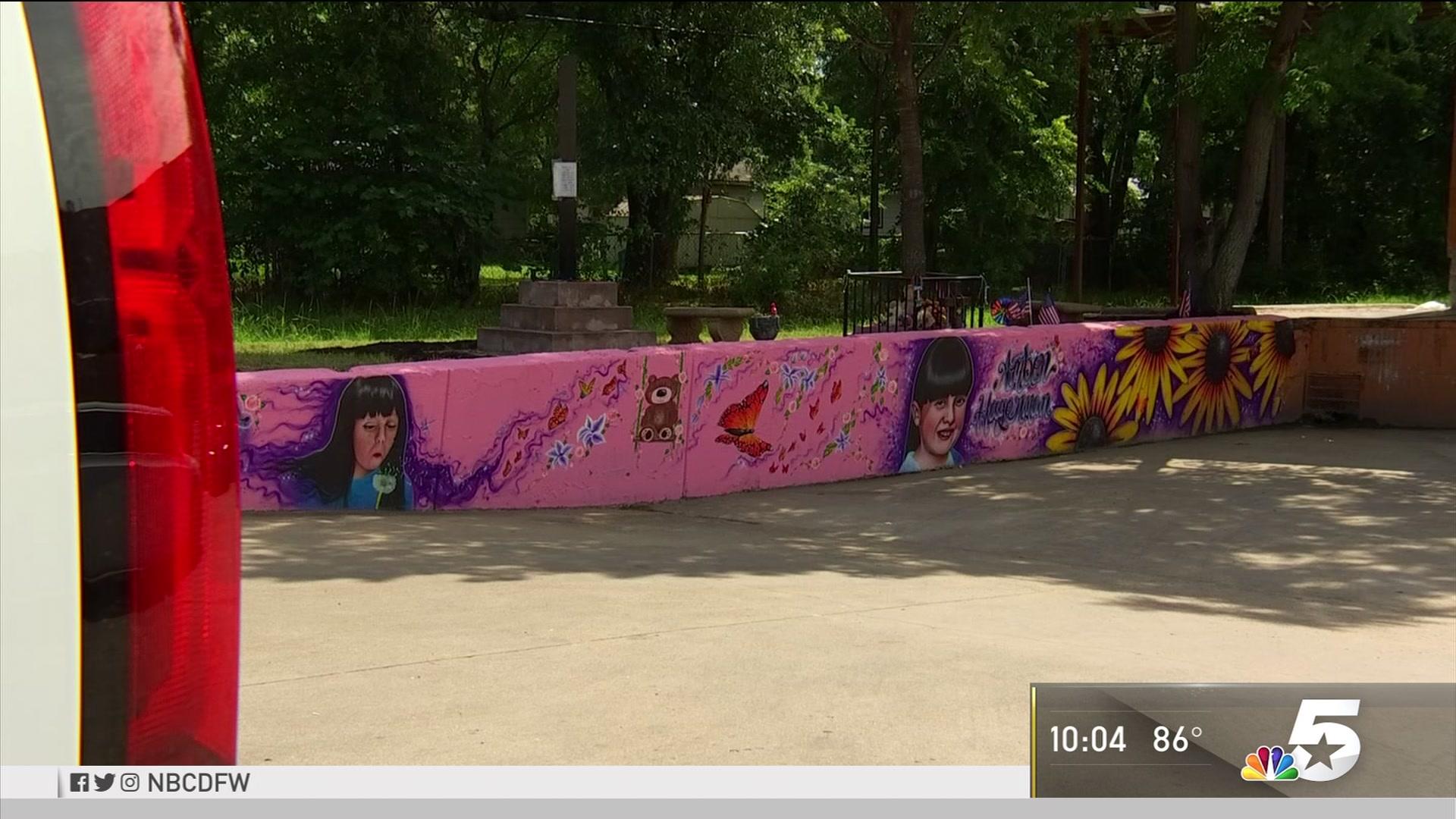 Refurbished Mural Pays Tribute to Arlington's Amber Hagerman | NBC 5