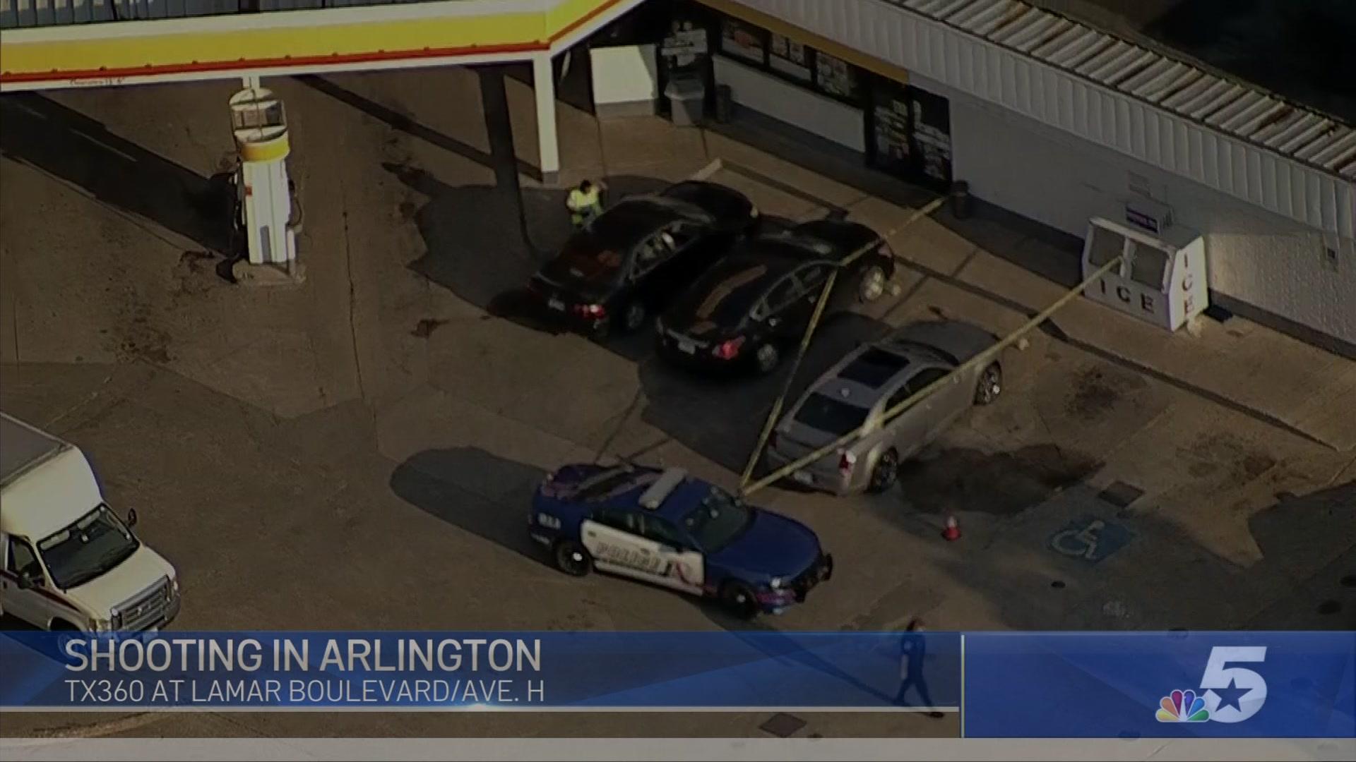 Man injures ex-girlfriend after firing shots outside