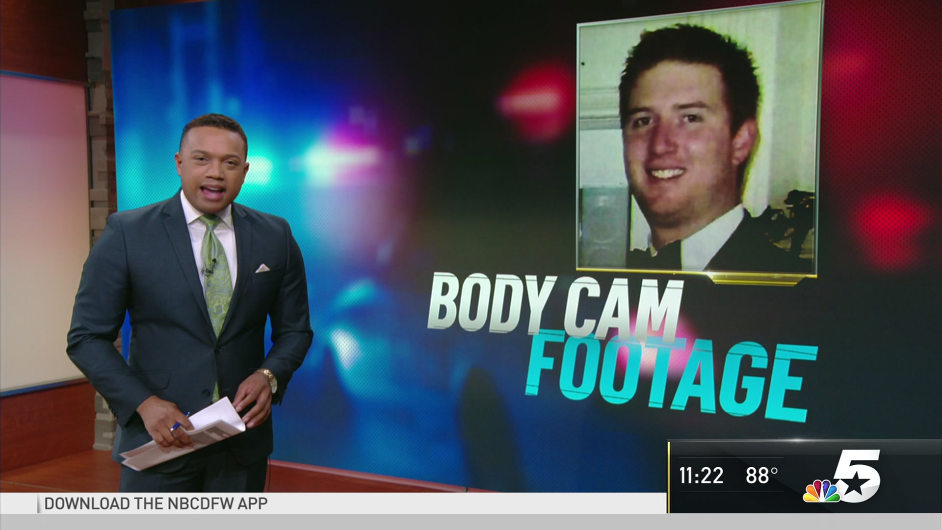 You're gonna kill me!': Dallas police body cam footage