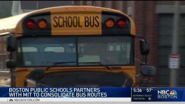 Boston Schools Could Cut Bus Routes Through MIT Plan