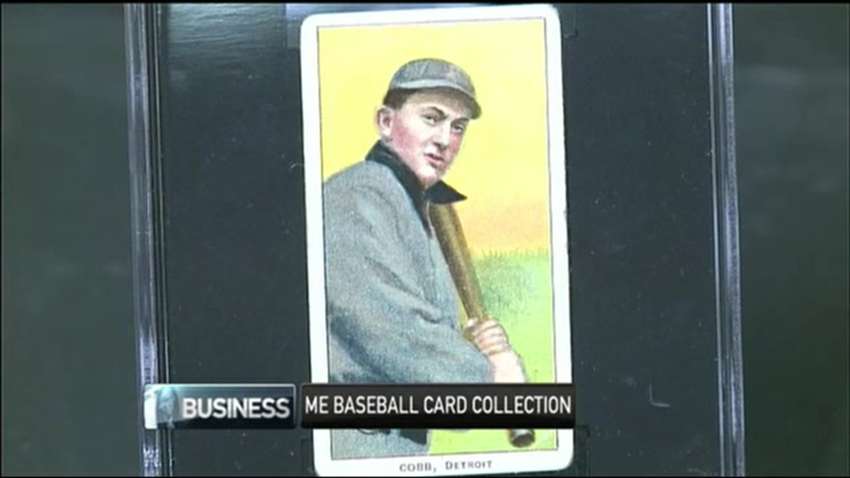Maine Company Buys Rare Baseball Cards For Auction
