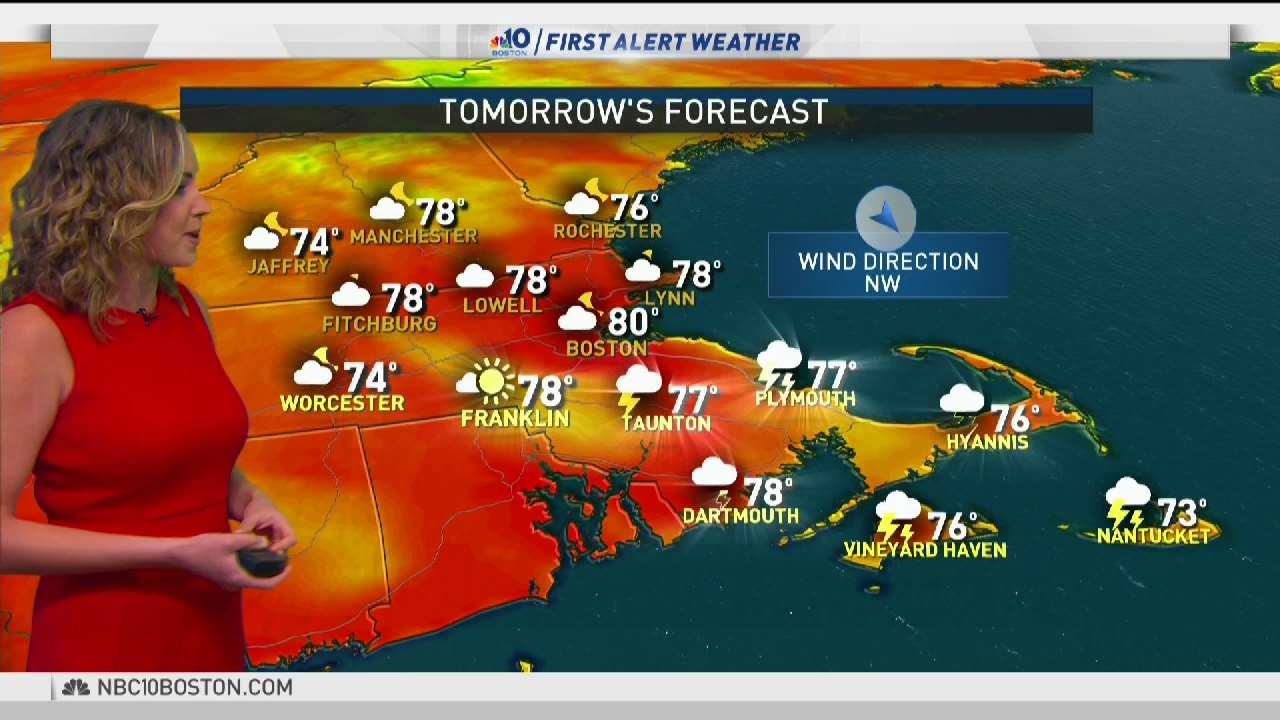 Weather Forecast: Highs Around 80