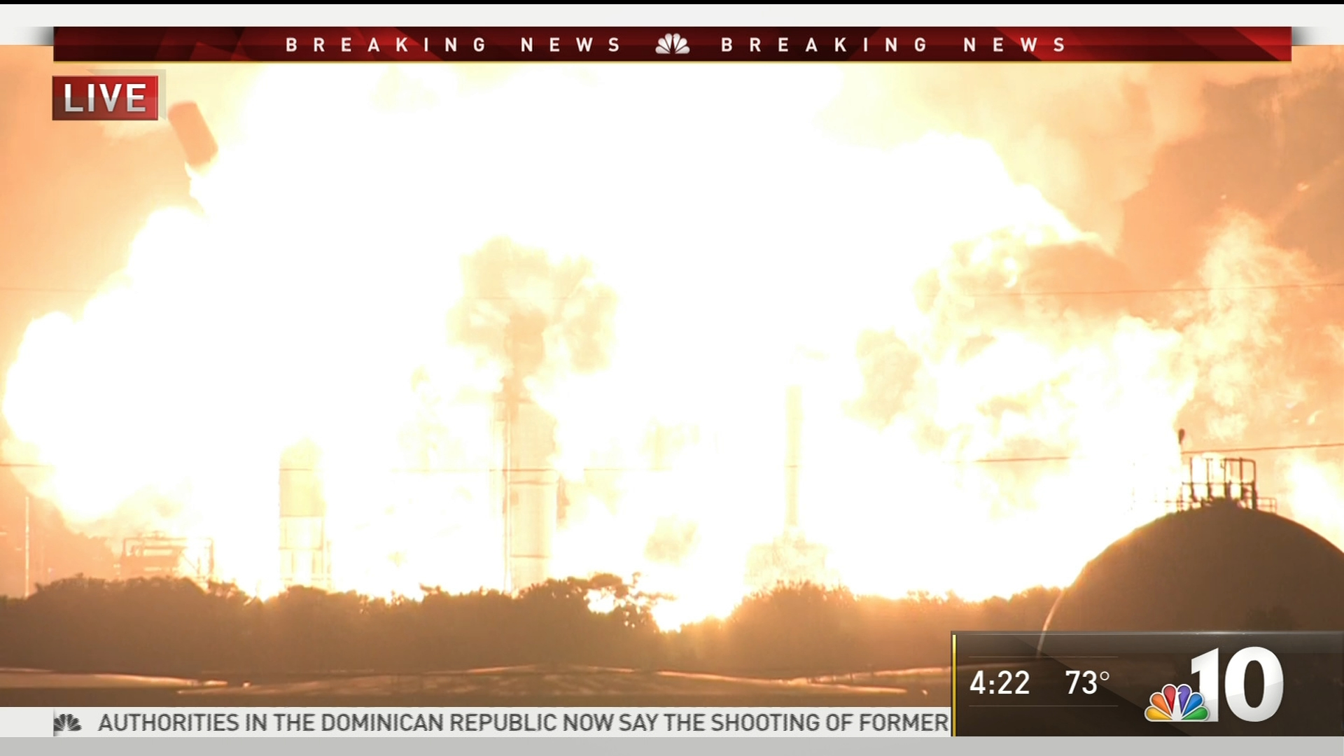 Giant explosion rocks Philadelphia refinery complex, gas prices rise