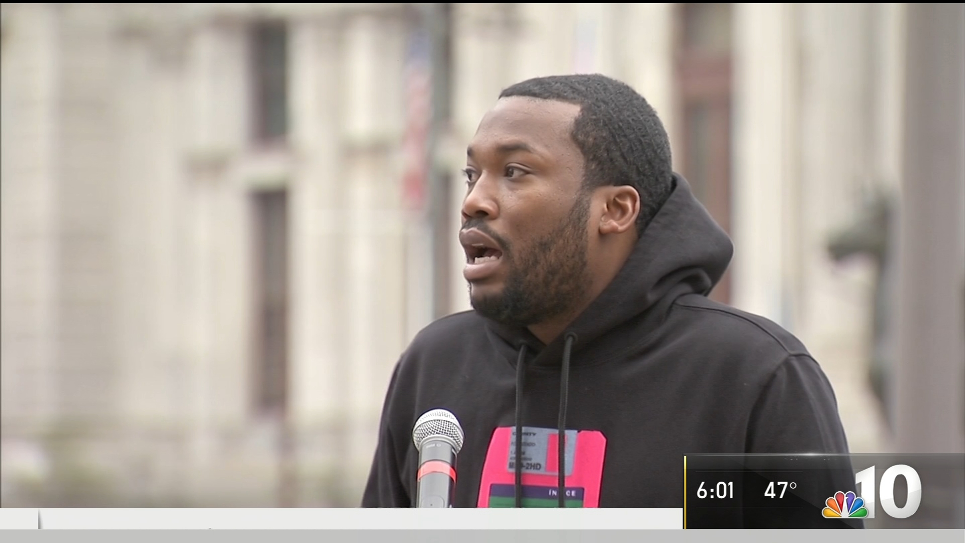 Meek Mill Urges Pa  to Reform Probation, Parole Systems