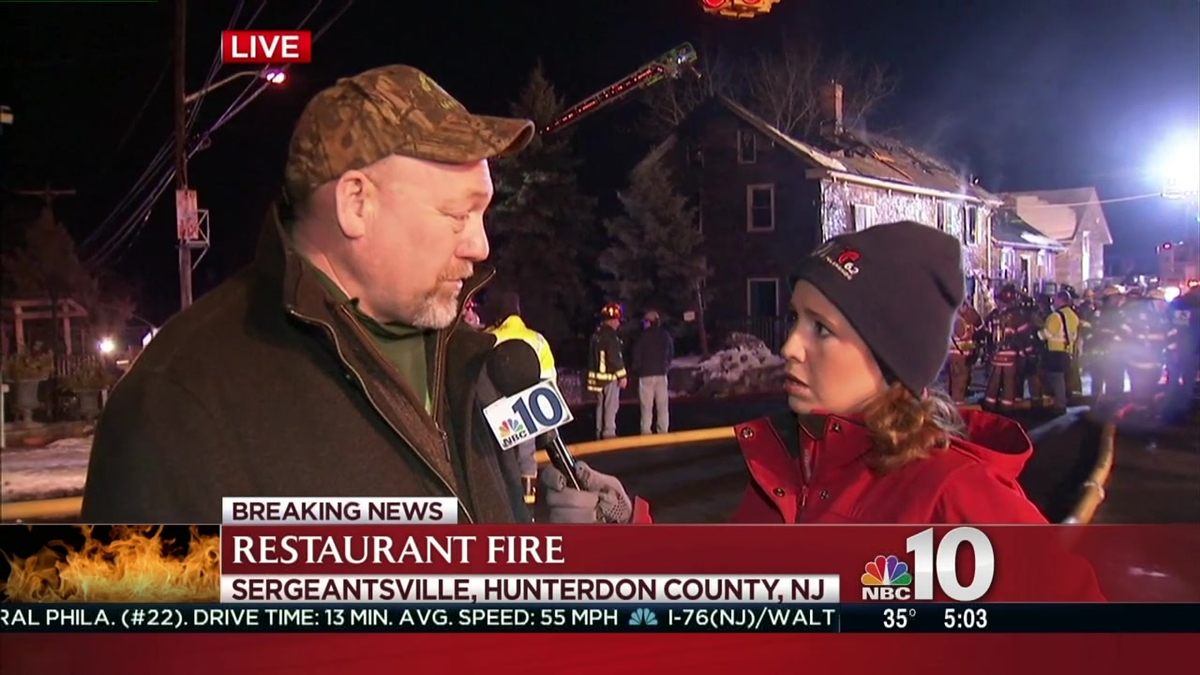 Historic Restaurant Destroyed in Overnight Flames