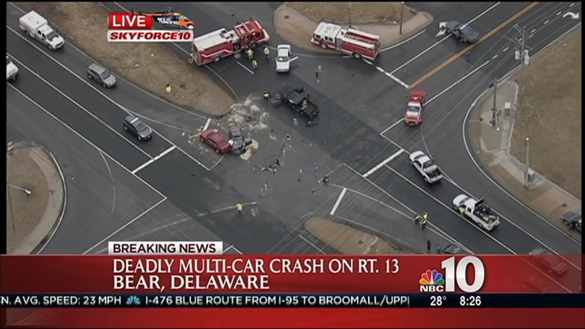 Deadly Crash in Bear, Delaware   NBC 10 Philadelphia