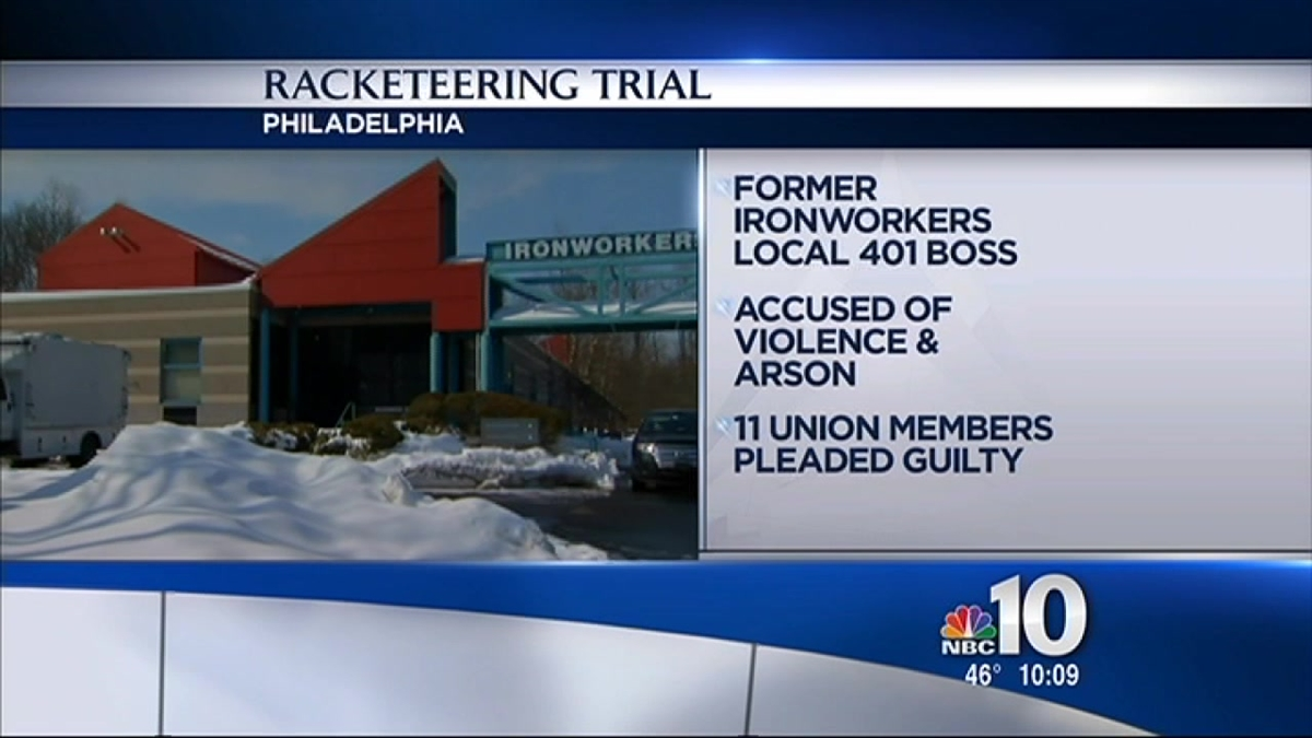 Ironworkers Leader's Racketeering Trial Set