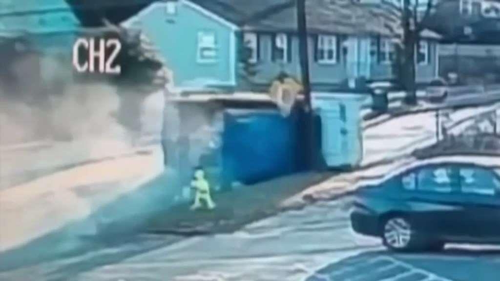 Garbage Truck Driver Arrested After Wild Crash Near