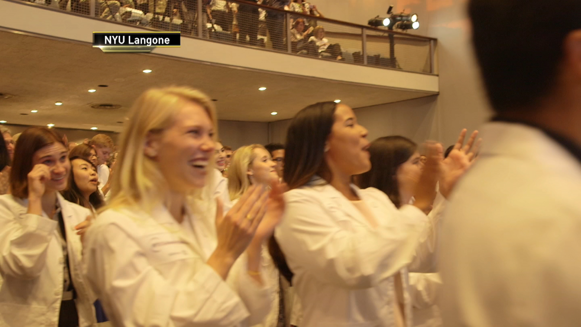 NYU Med Students Surprised With Free Tuition