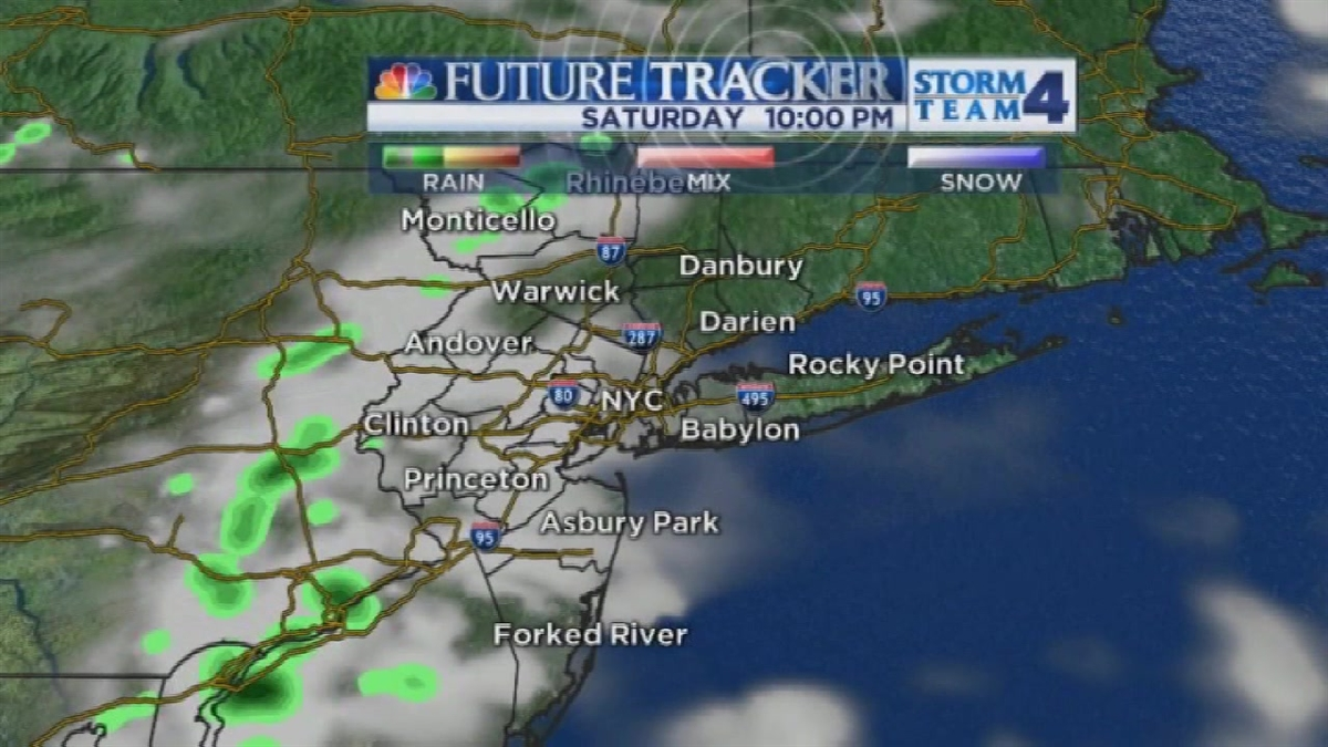 Late Evening Forecast for Saturday July 4, 2015