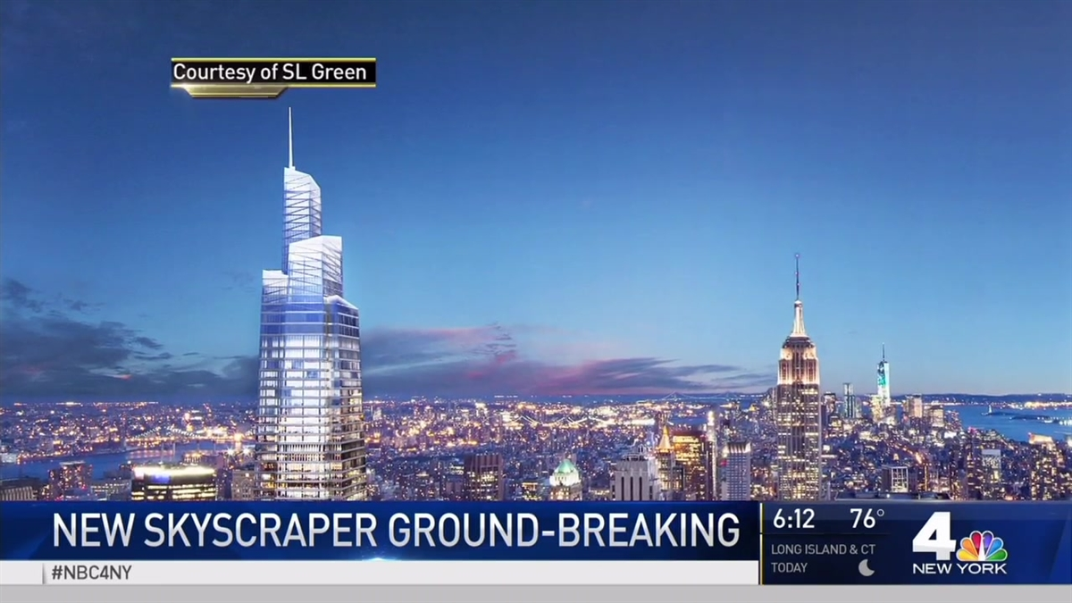 Groundbreaking on New Midtown Skyscraper One Vanderbilt Ave
