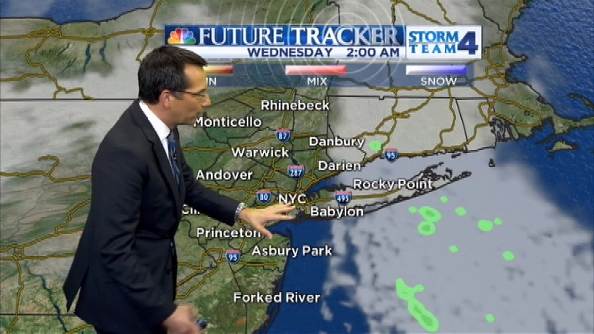 Late Evening Forecast for Tuesday December 8, 2015
