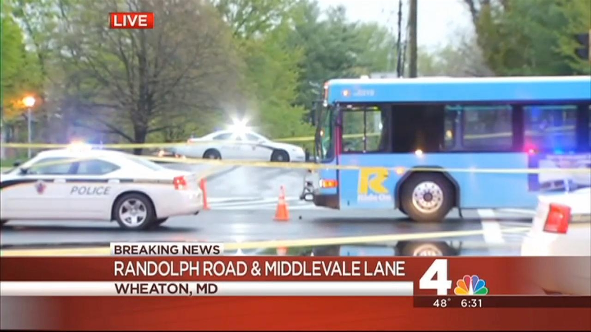Woman Hit by Ride On Bus in Md  | NBC4 Washington