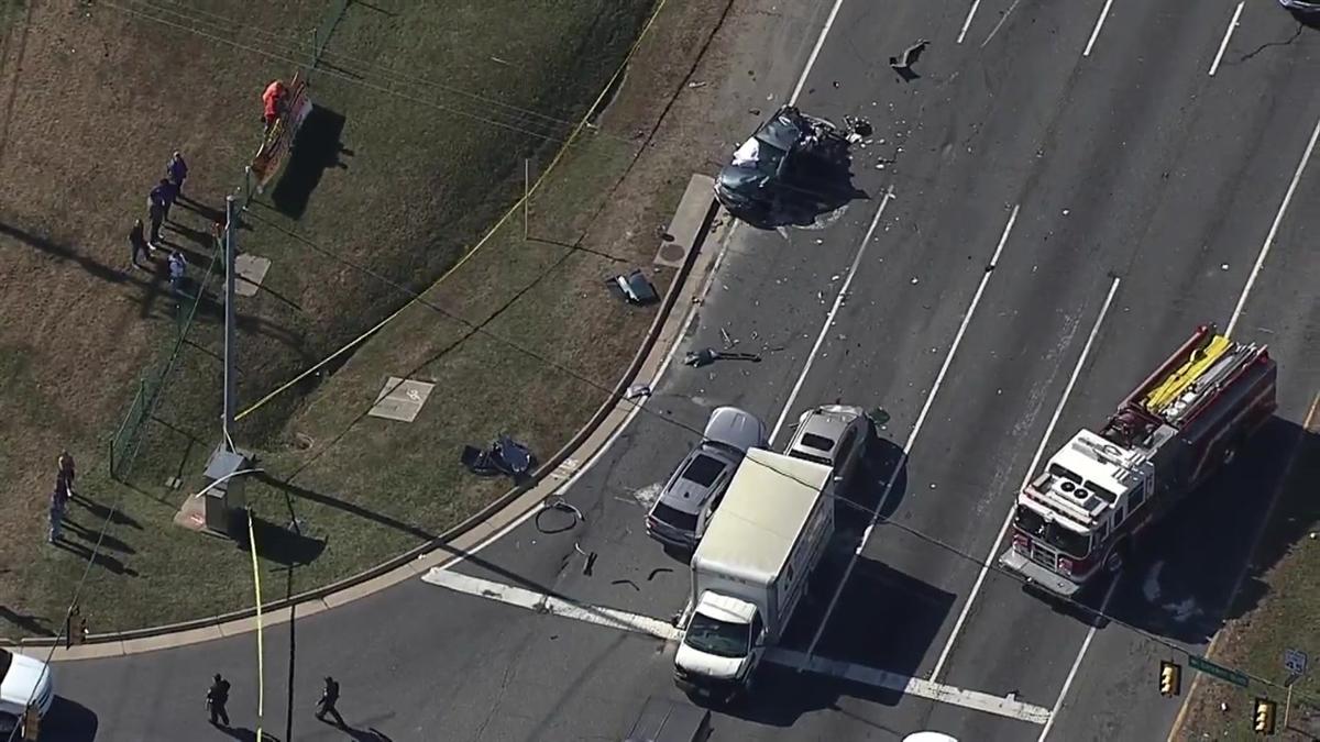 RAW VIDEO: Fatal Fredericksburg Crash