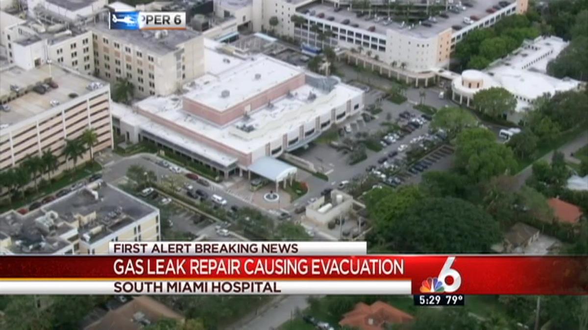 Gas Leak Causes Partial Evacuation at South Miami Hospital