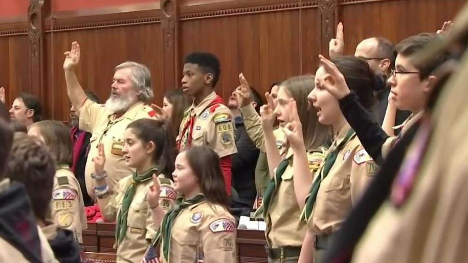 Girls Officially Inducted Into Boy Scouts