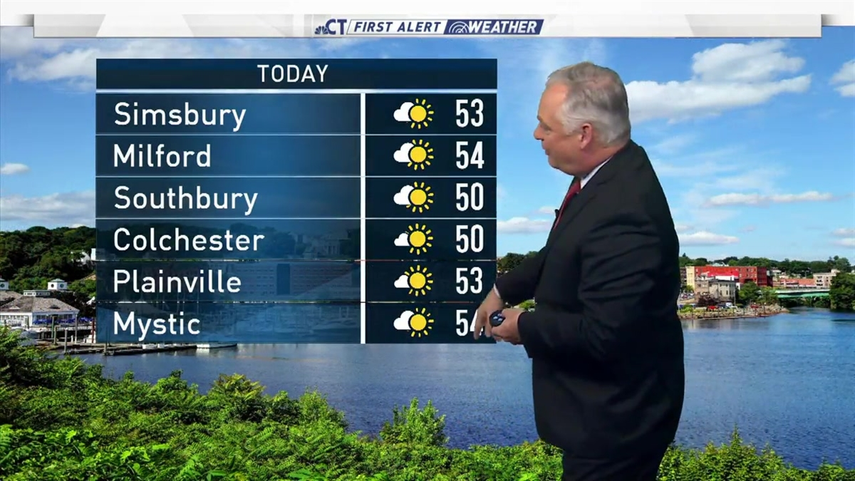 Milder Weather Moves in Monday - NBC Connecticut