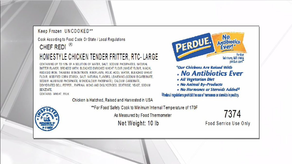 Florida Among States Listed in Perdue Chicken Recall